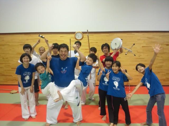 Grupo de Capoeira Kadoshi Capu Japon 新潟